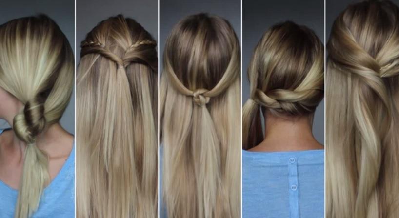 comment se coiffer en 5 minutes
