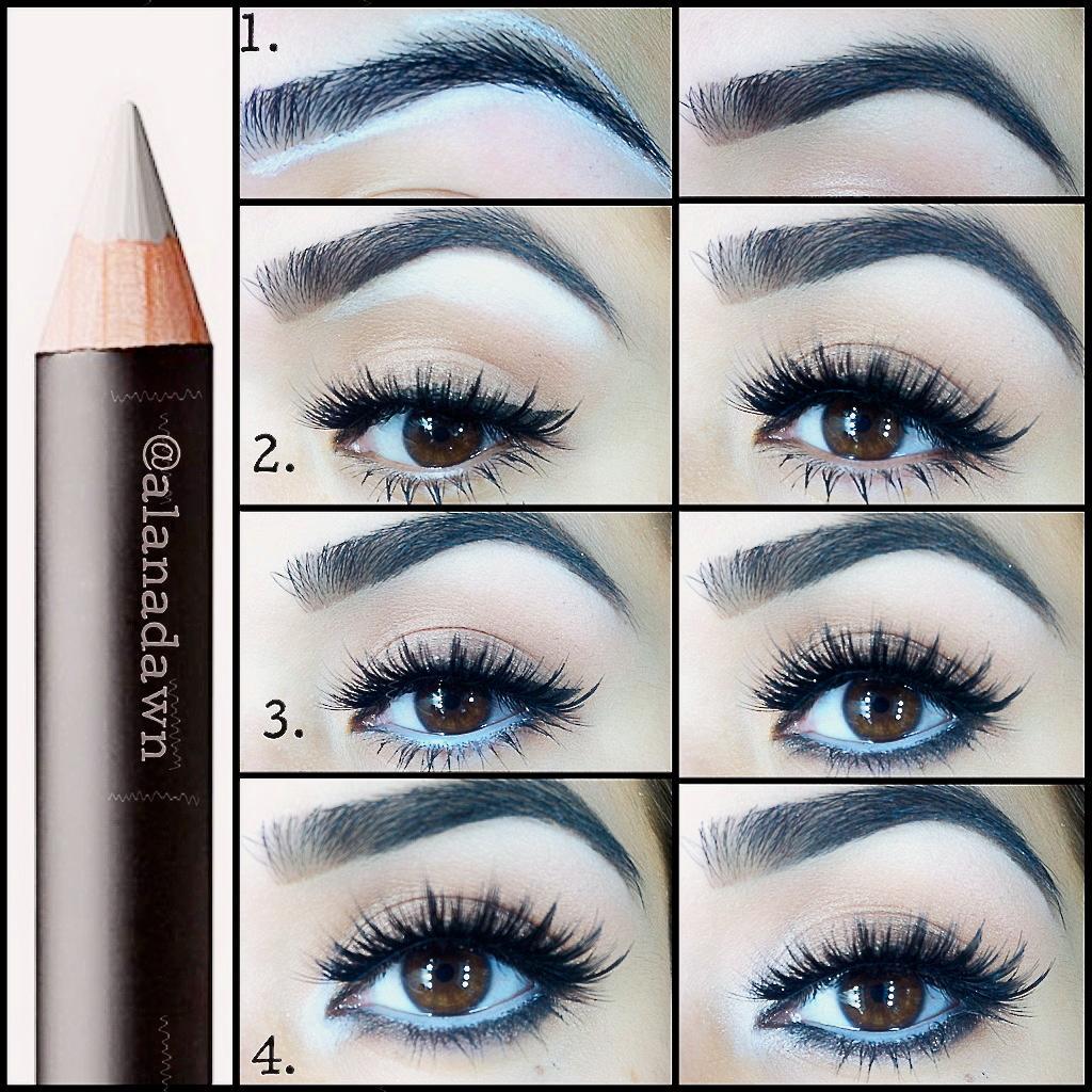 eye-liner-blanc