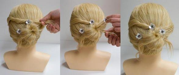 Une belle coiffure pour soirée fin d'année 1 - Astuces pour femmes