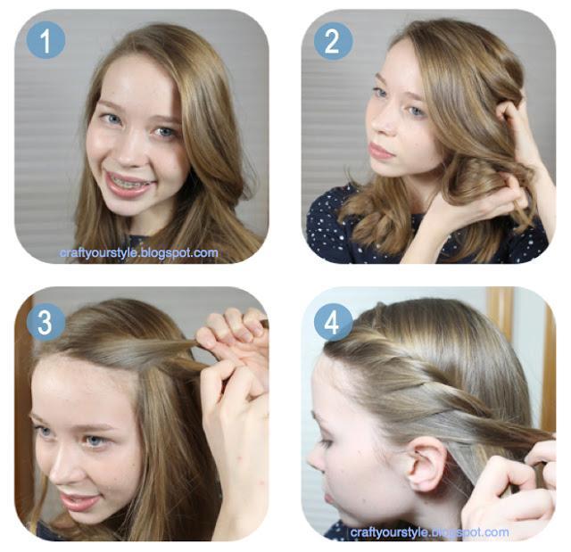 Gut gemocht Coiffure petite fille fete coiffure simple et classe | Coiffure  XR55