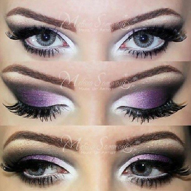 tutoriels maquillage yeux pour mari es astuces pour femmes. Black Bedroom Furniture Sets. Home Design Ideas