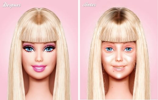 barbie sans maquillage-1