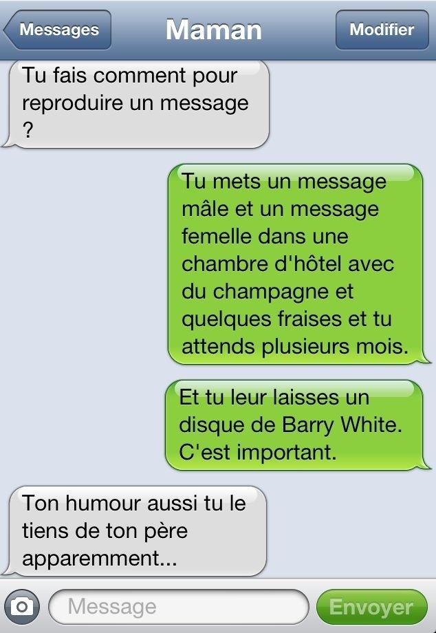 Bevorzugt Top 50 SMS Drôles Qui Vous Feront Rire à Fond ! A ne Pas Rater  YE52