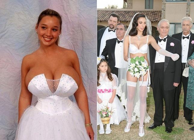 Les Robes de Mariage Les Plus Ridicules !