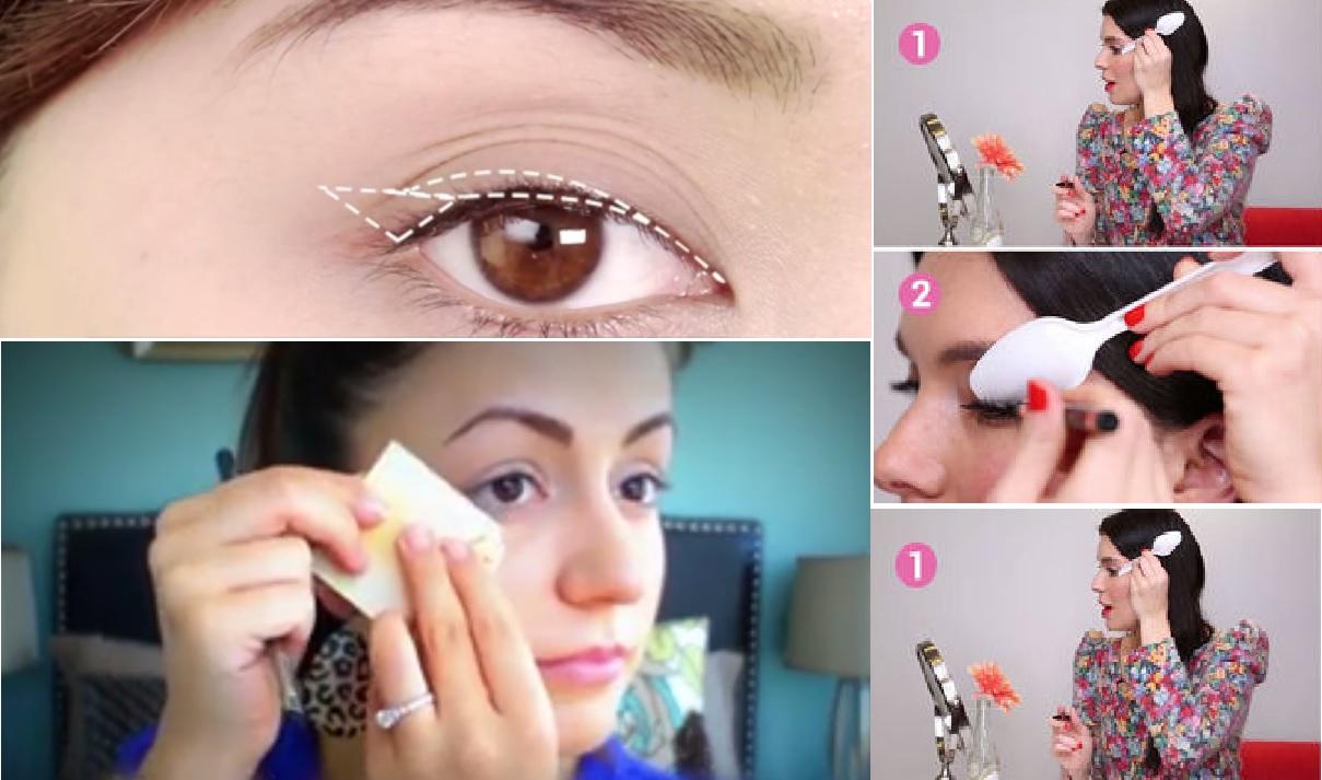Apprenez les 4 meilleures techniques pour r ussir votre trait d 39 eye liner astuces pour femmes - Comment faire un trait d eye liner ...