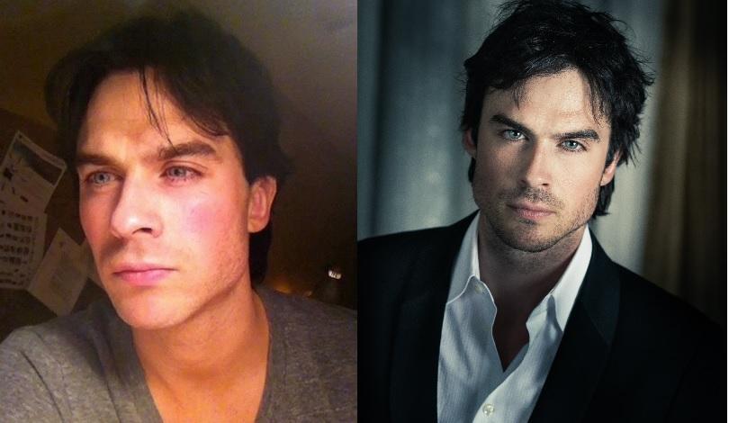 Des Stars Hommes Avec Et Sans Maquillage Quelle Difference