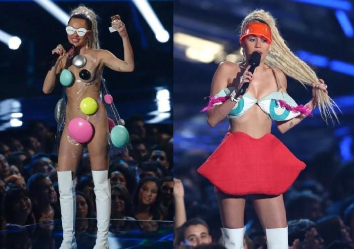 Les photos de scandale nu de Miley Cyrus