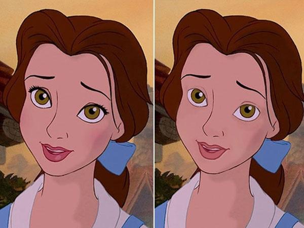 Voici les princesses disney sans maquillage astuces pour femmes - Maquillage princesse disney ...