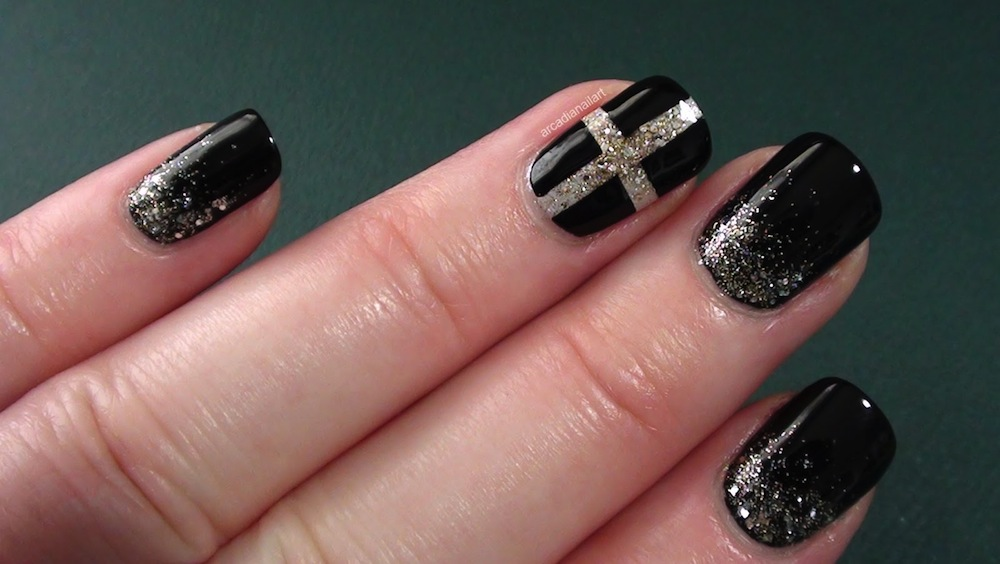 Stylish-Black-Nail-Art.