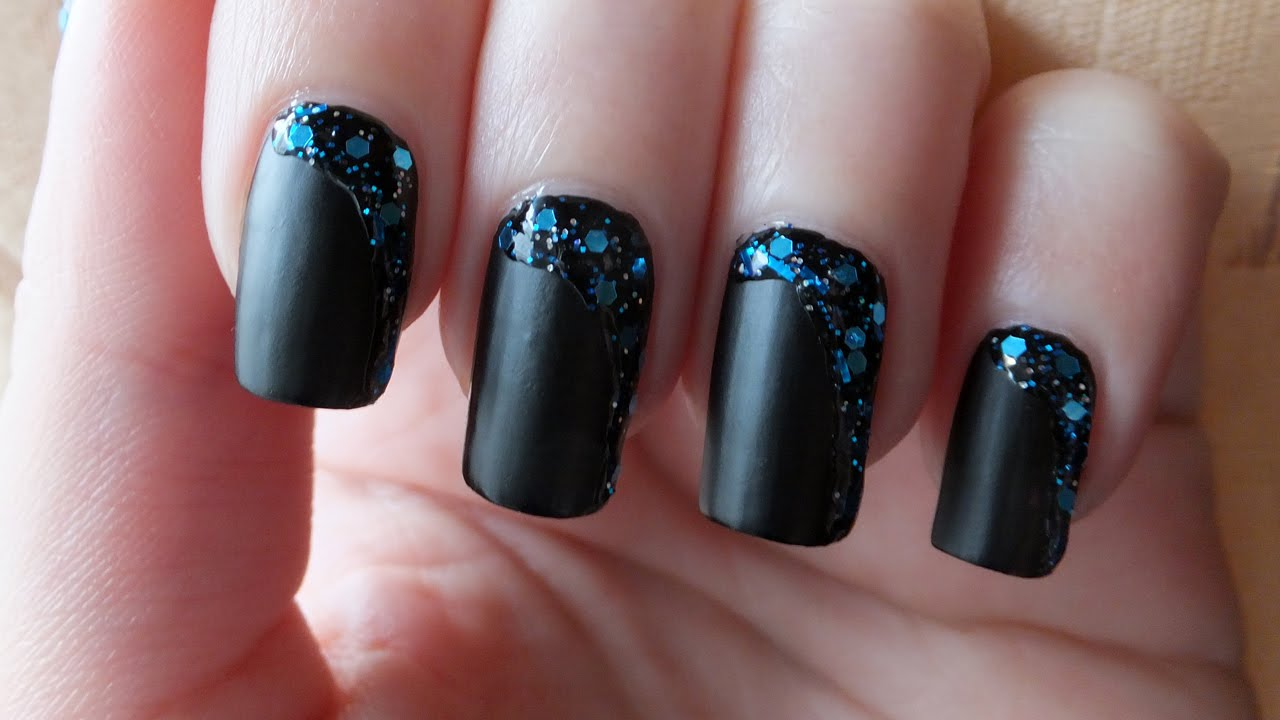 black-nail-art-designs