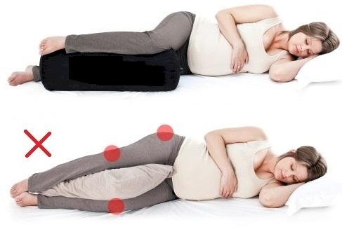 les bonnes position de dormir pour les femmes enceintes astuces pour femmes. Black Bedroom Furniture Sets. Home Design Ideas