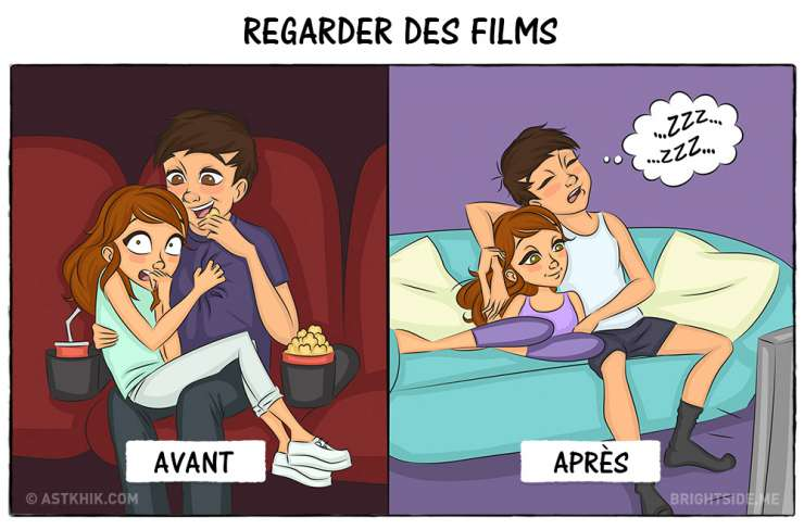La-Vie-Avant-Le-Mariage-VS-La-vie-Après-le-Mariage-en-6-Illustrations
