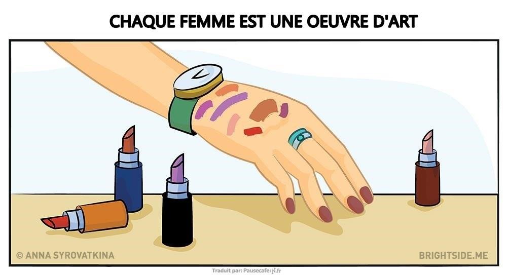 Situations Que Chauque Femme  Vécu Dans sa vie 10 (2)