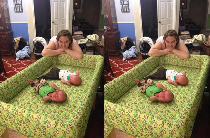 la maman  accouche de triplés  5