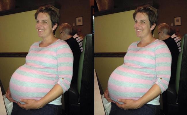la maman  accouche de triple  2