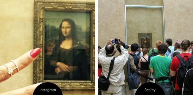 Instagram VS La vie réelles 11