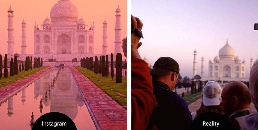 Instagram VS La vie réelles 13