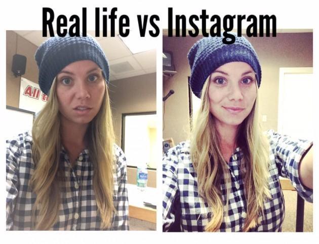 Instagram VS La vie réelles 14