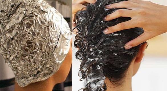 elle met cet ingr dients magique sur ses cheveux pendant 15 minutes seulement et les r sultats. Black Bedroom Furniture Sets. Home Design Ideas
