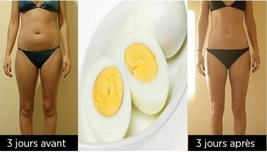 Le Régime des œufs Pour Perdre des Kilos Plus Rapidement