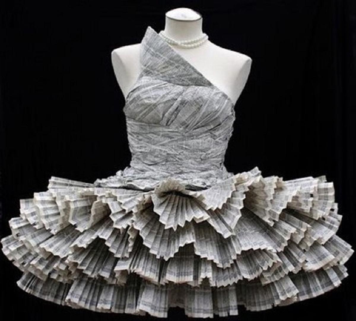 robe-en-journaux