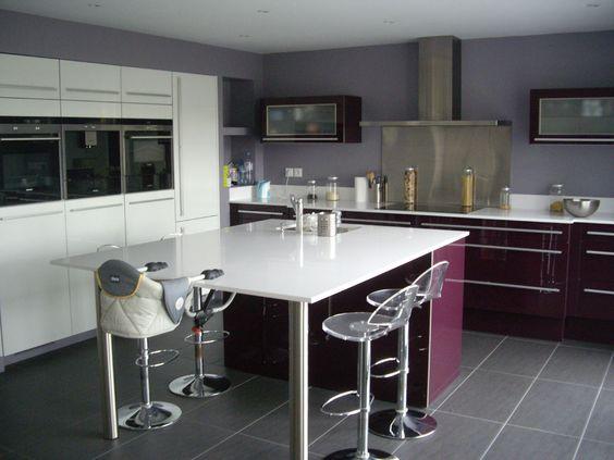 20 id es de d co pour la cuisine moderne et pratique. Black Bedroom Furniture Sets. Home Design Ideas