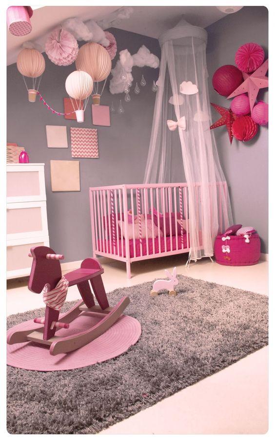 Chambre de bébé fille : jolies photos pour s\'inspirer - Astuces ...