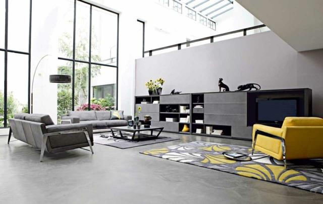Photos-et-idées-déco-salons-modernes-pour-vous-inspirer-5 - Astuces ...