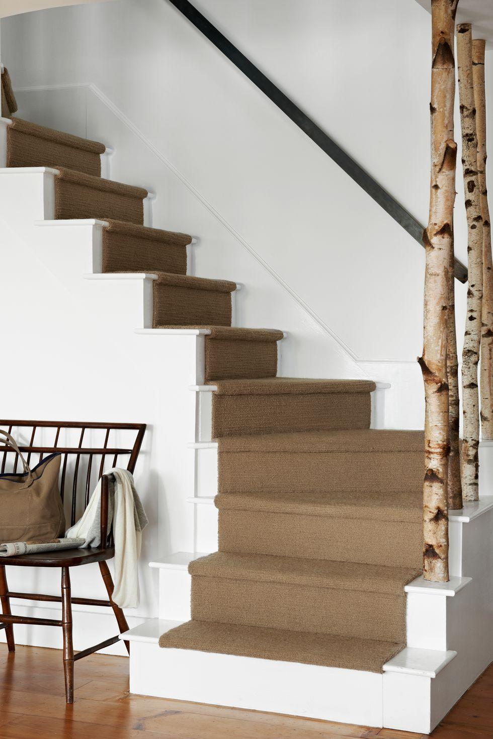 d co escalier 20 id es cr atives et modernes astuces pour femmes. Black Bedroom Furniture Sets. Home Design Ideas
