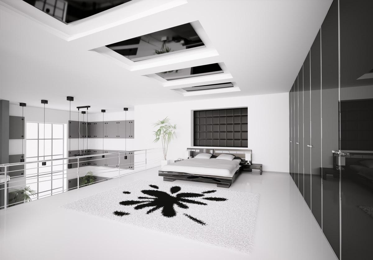 D coration chambre a coucher moderne noir et blanc 20 for Chambre a coucher moderne noir et blanc