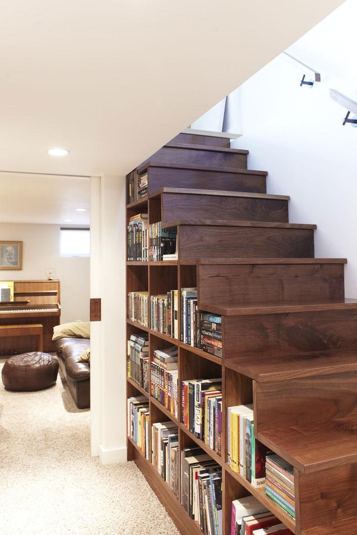 id es pour optimiser l 39 espace sous un escalier astuces. Black Bedroom Furniture Sets. Home Design Ideas