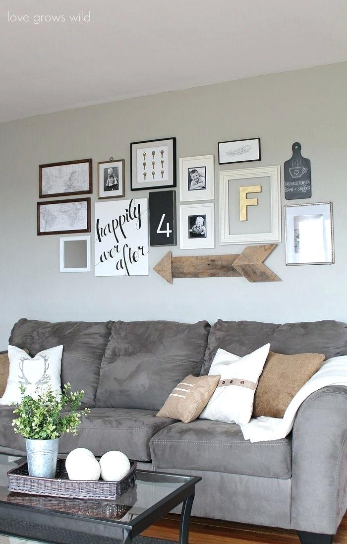 10 id es d co pour le mur au dessus de canap astuces pour femmes. Black Bedroom Furniture Sets. Home Design Ideas