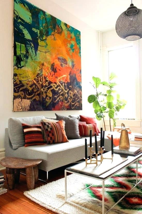 10 id es d co pour le mur au dessus de canap astuces. Black Bedroom Furniture Sets. Home Design Ideas