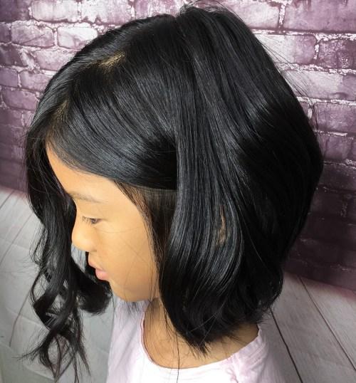 15 id es adorables coupes de cheveux pour petite fille. Black Bedroom Furniture Sets. Home Design Ideas