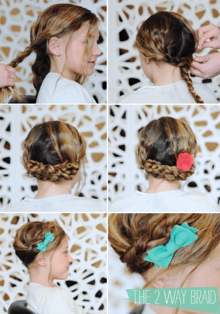 Back of little girls head