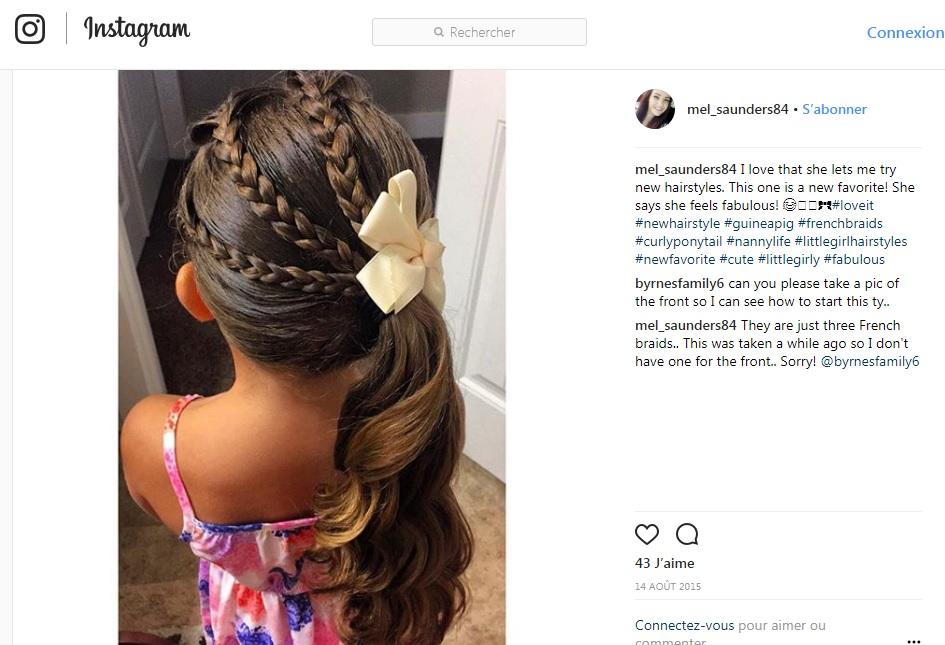 10 coiffures de petite fille faciles pour l 39 cole for Astuces de cuisine