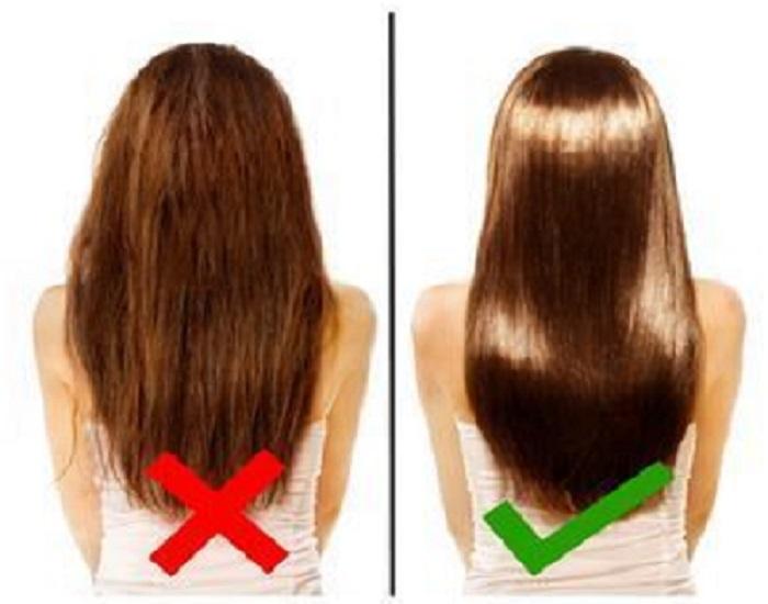 cheveux secs femme remede