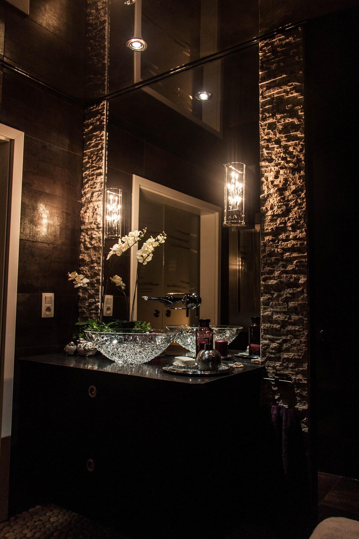 un mur en pierre de superbes d corations qui rendront votre maison 18 astuces pour femmes. Black Bedroom Furniture Sets. Home Design Ideas